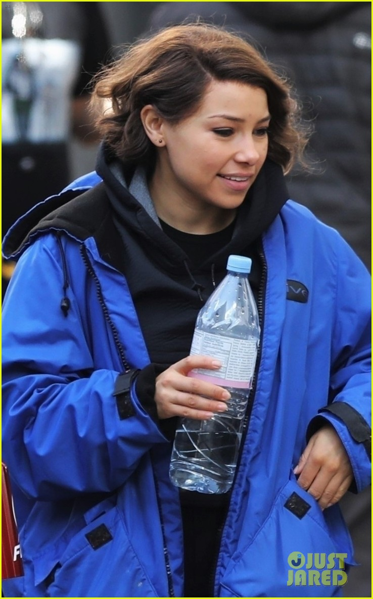 grant gustin jessica parker kennedy flash filming 044158178
