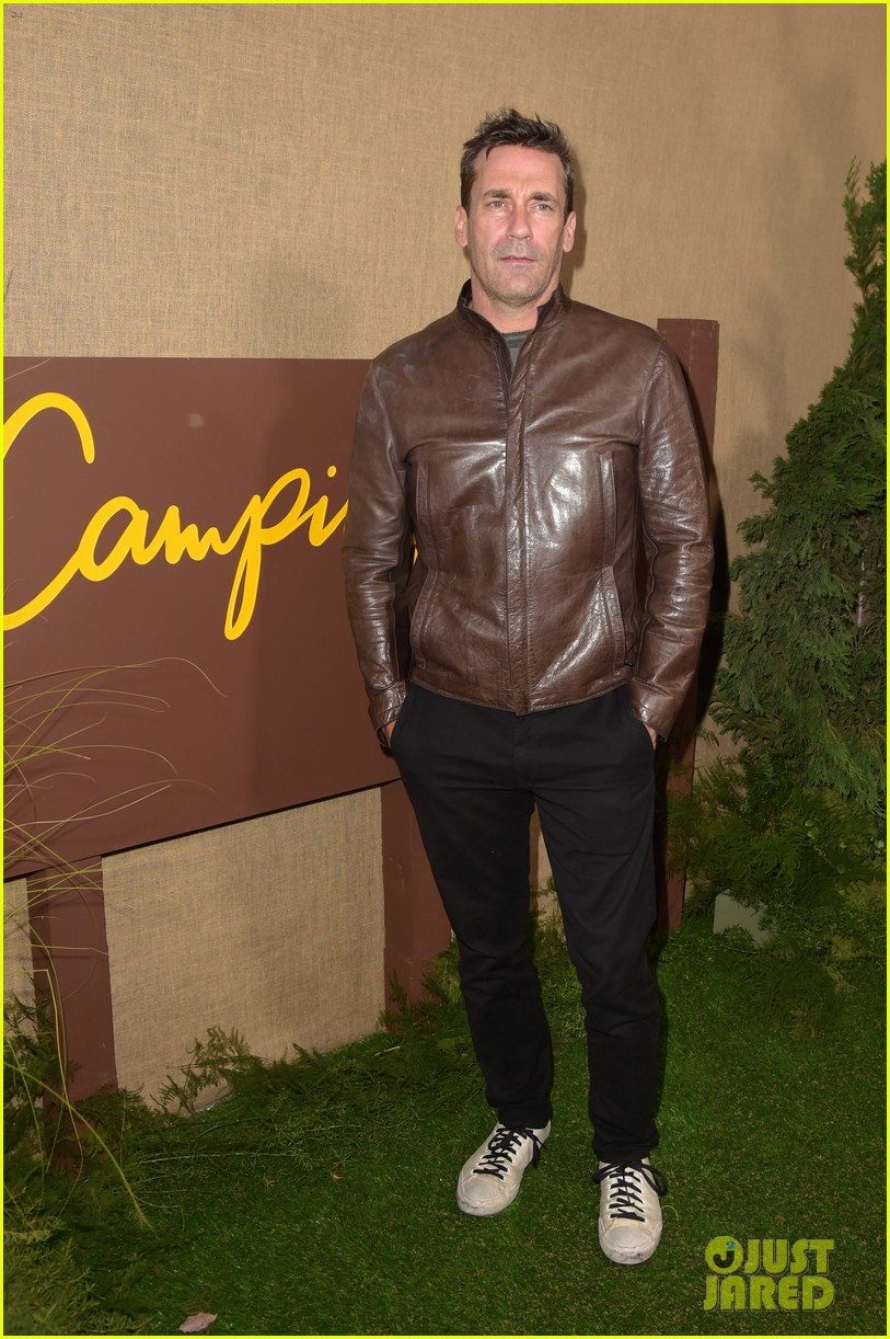 jon hamm busy philipps camping premiere 134162885