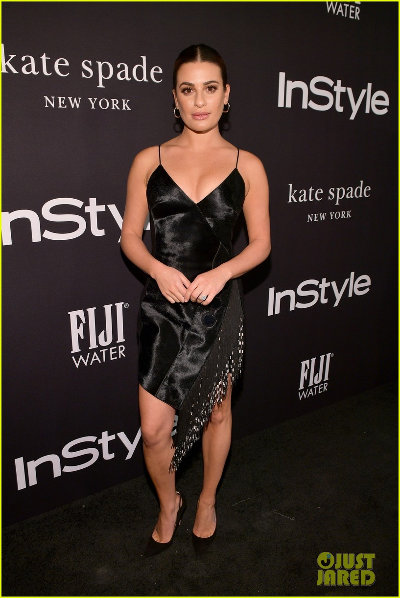 kaley cuoco lea michele instyle awards 2018 024169011