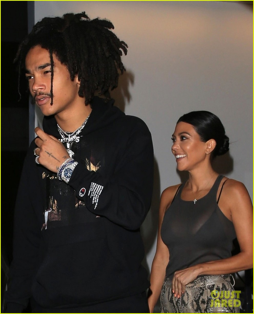 kourtney kardashian gallery with luka sabbat 044162861