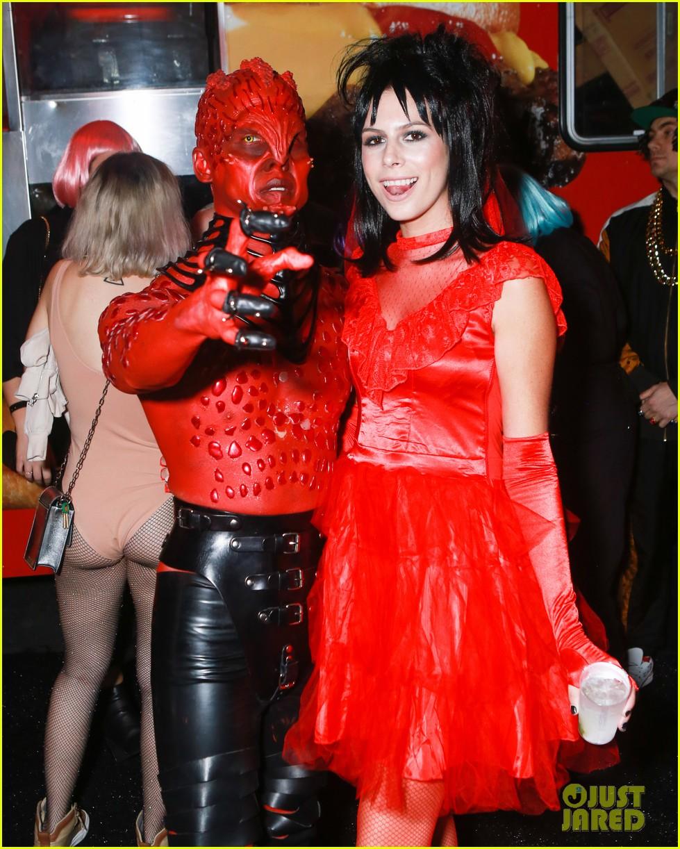 adam lambert leona lewis just jared halloween party 174171903