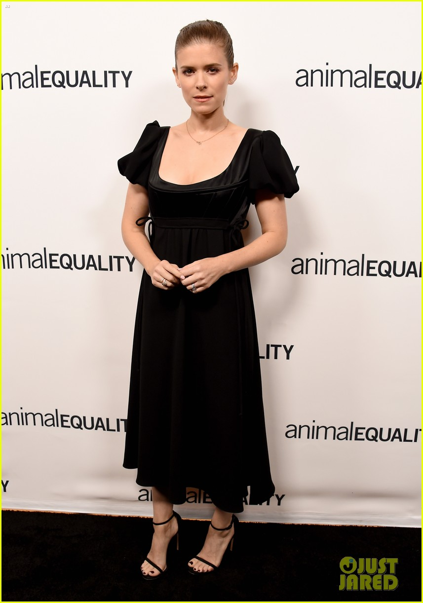 kate rooney mara step out for animal equality gala 01
