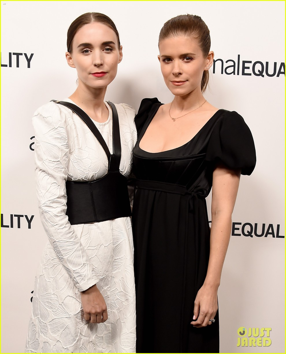 kate rooney mara step out for animal equality gala 02