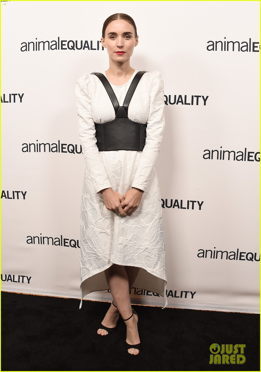 kate rooney mara step out for animal equality gala 04