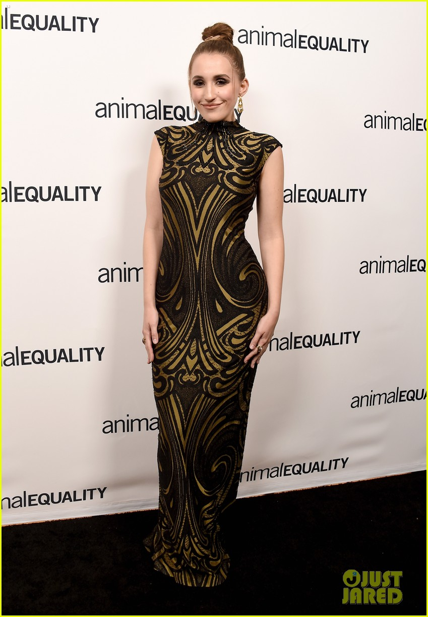 kate rooney mara step out for animal equality gala 05