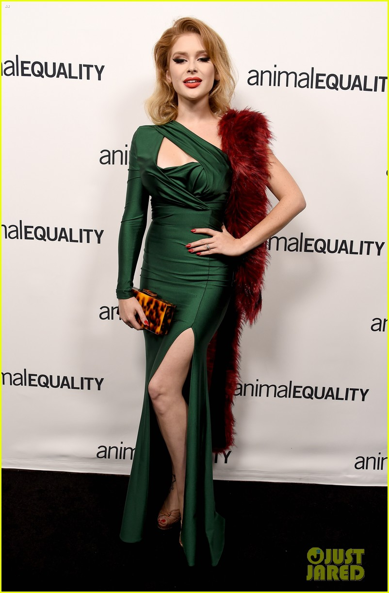 kate rooney mara step out for animal equality gala 06