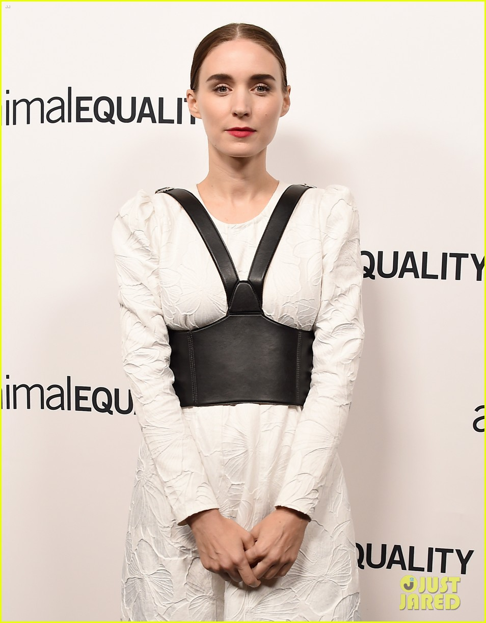 kate rooney mara step out for animal equality gala 11