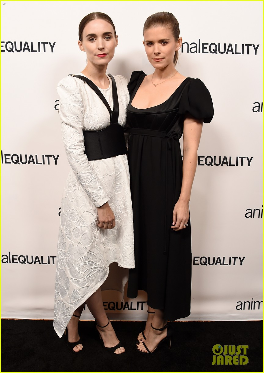 kate rooney mara step out for animal equality gala 14