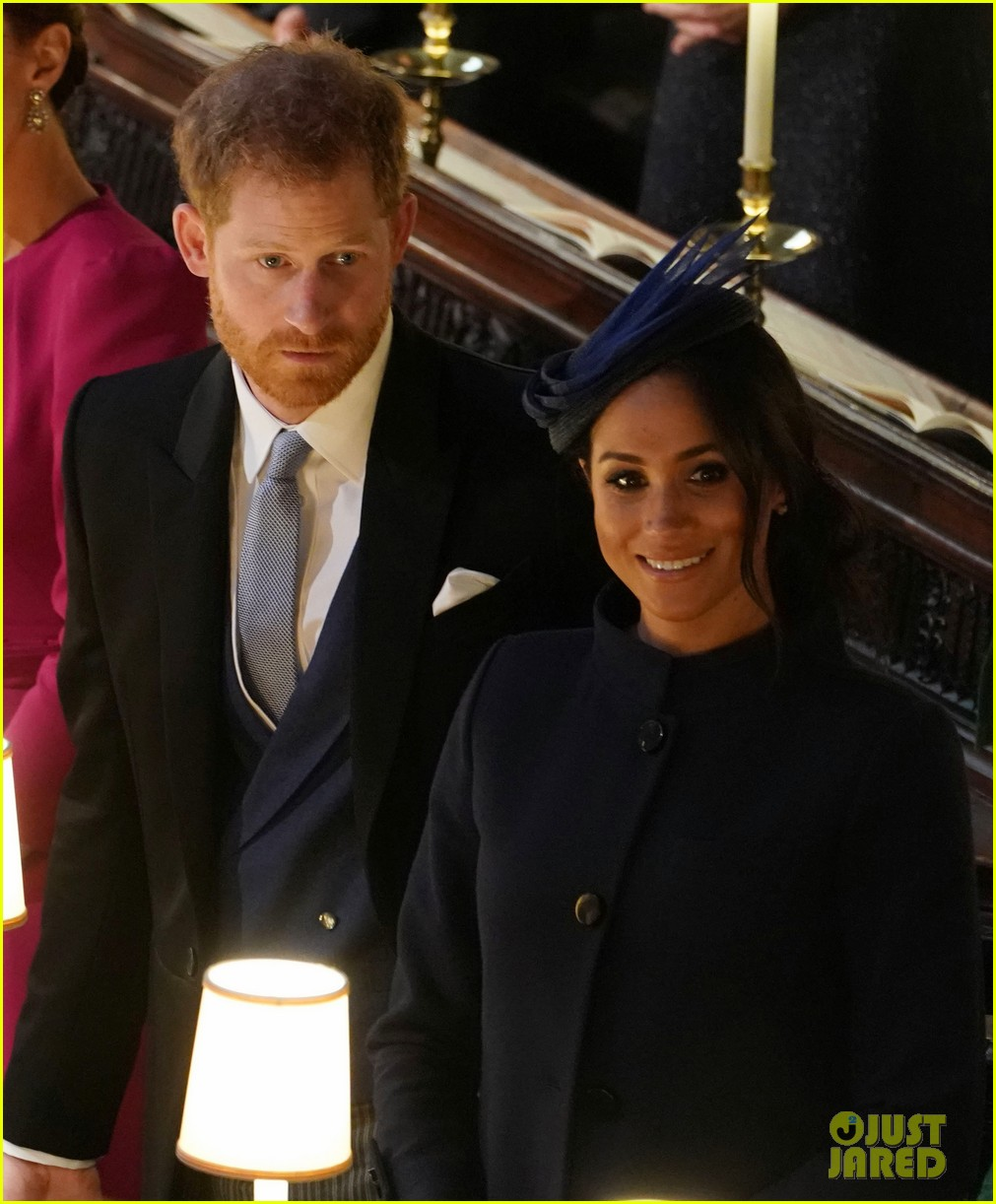 Prince Harry & Meghan Markle Attend His Cousin Princess