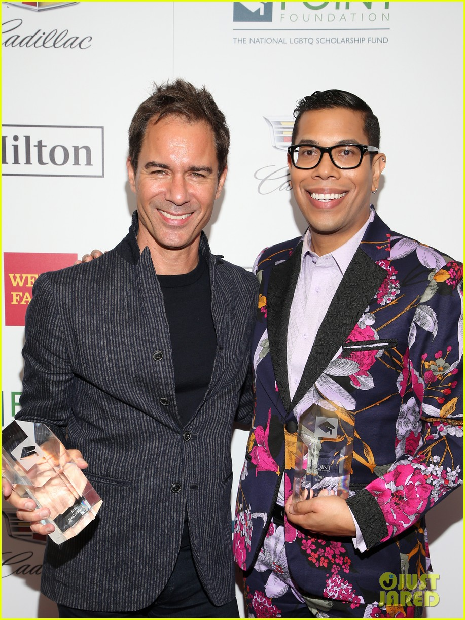 eric mccormack scores honor at point honors los angeles 2018 334165051
