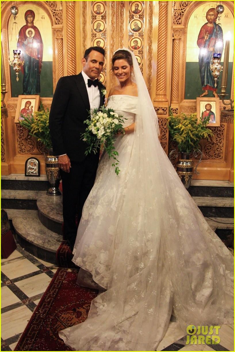 Maria Menounos Gets Married Again - See Wedding Photos ...