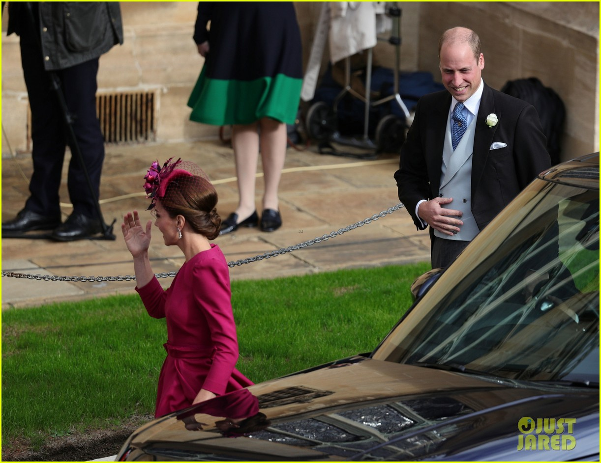 kate middleton prince william princess eugenie wedding 054163624