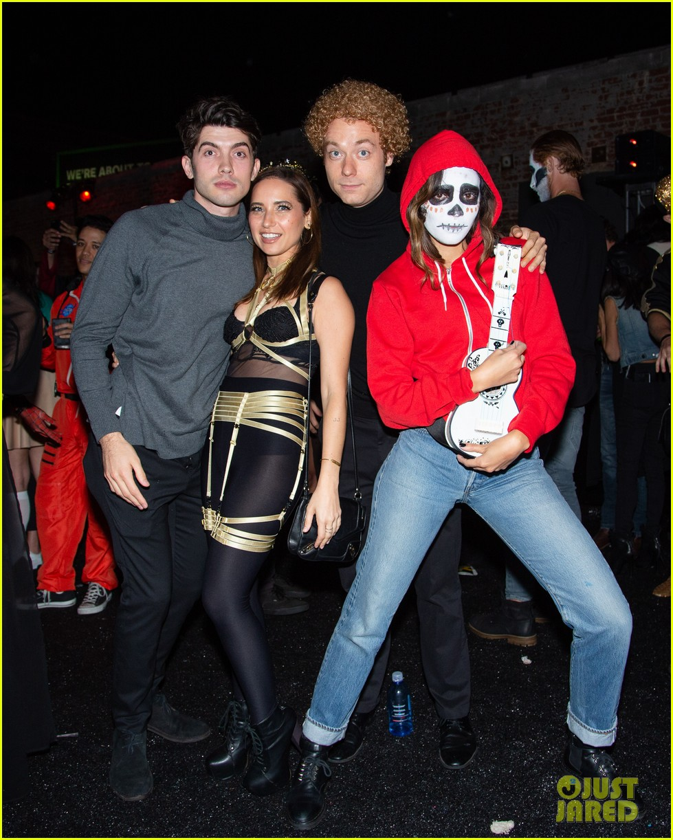 riverdale stars just jared halloween party 124171747