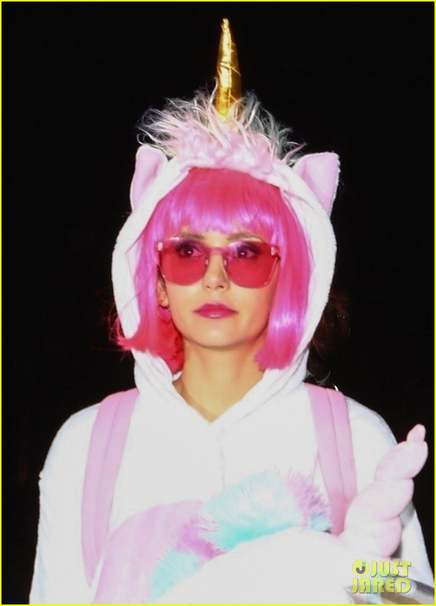nina dobrev dresses as unicorn for kate hudsons halloween party 024171732