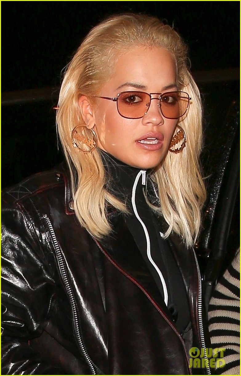 rita ora rocks leather outfit for dinner in weho 044164441