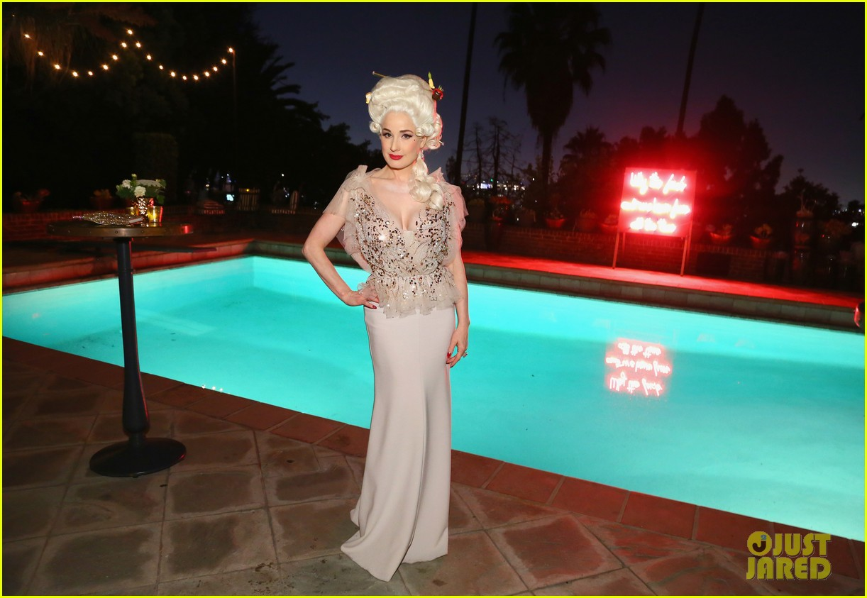 aaron paul dita von teese birthday party 044157344