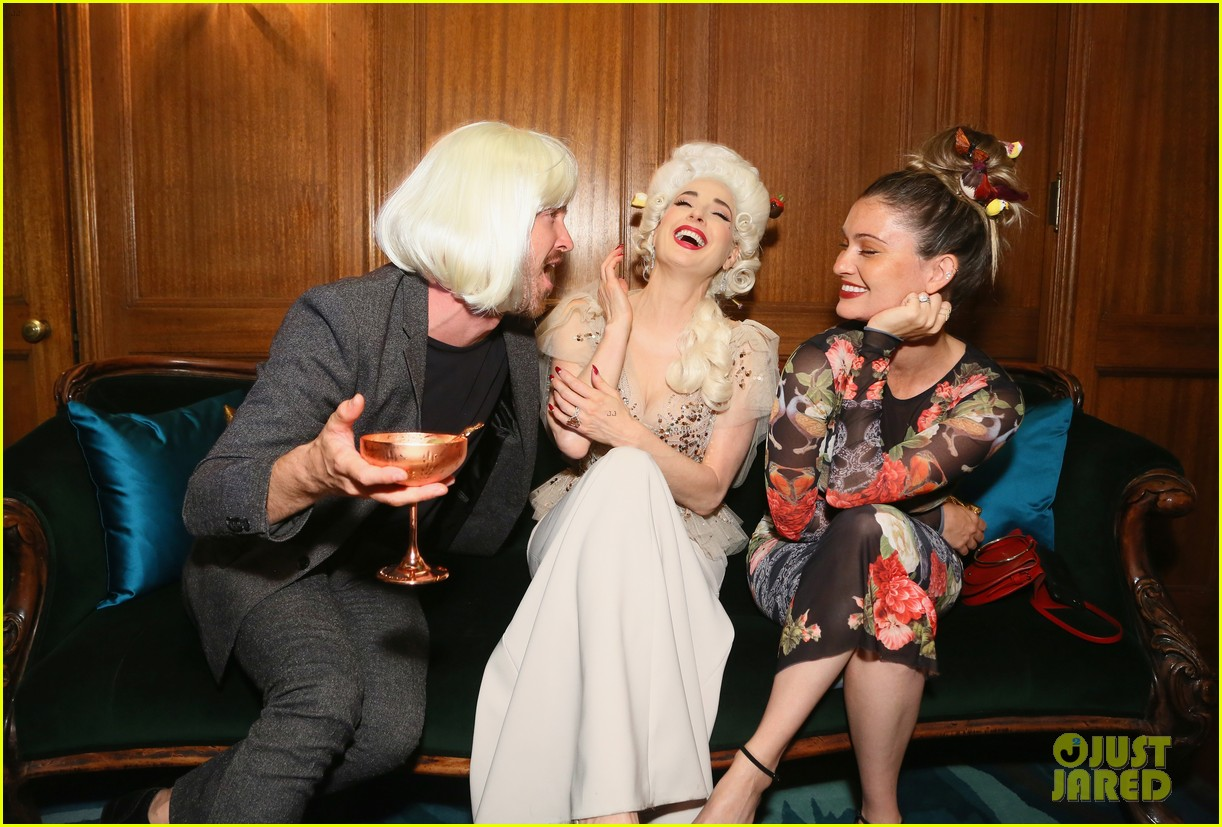 aaron paul dita von teese birthday party 114157351