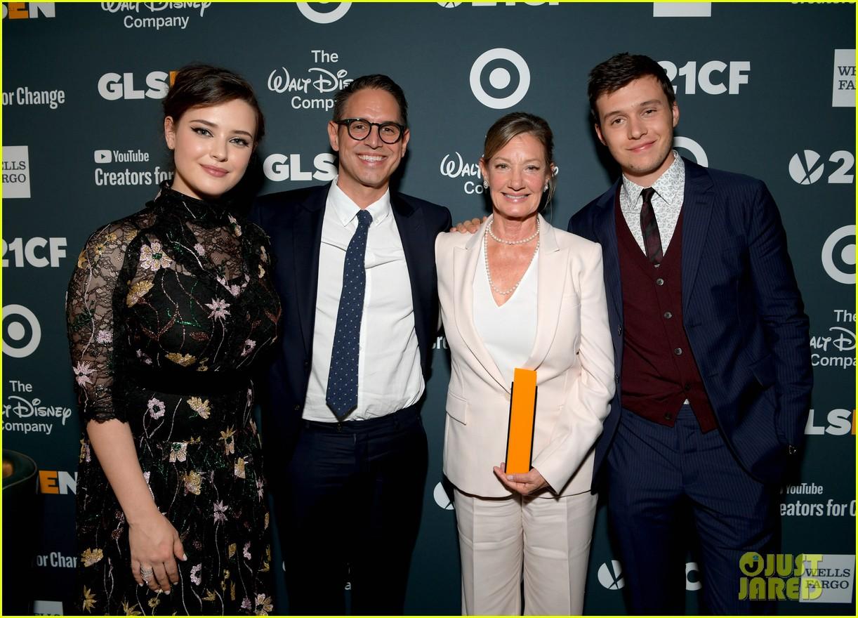 nick robinson katherine langford glsen respect awards 20