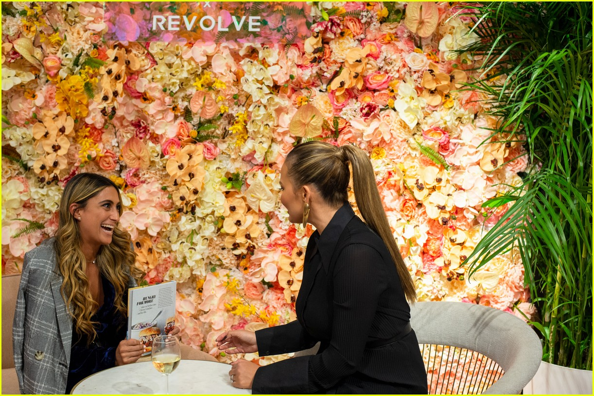 chrissy teigen shows off her revolve collection at nyc pop up184169994