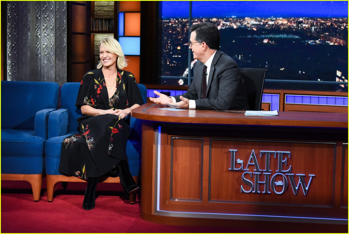 robin wright colbert late show 024167650