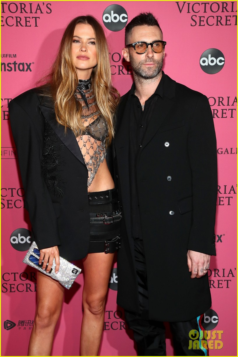 behati prinsloo adam levine victorias secret fashion show after party 024178409