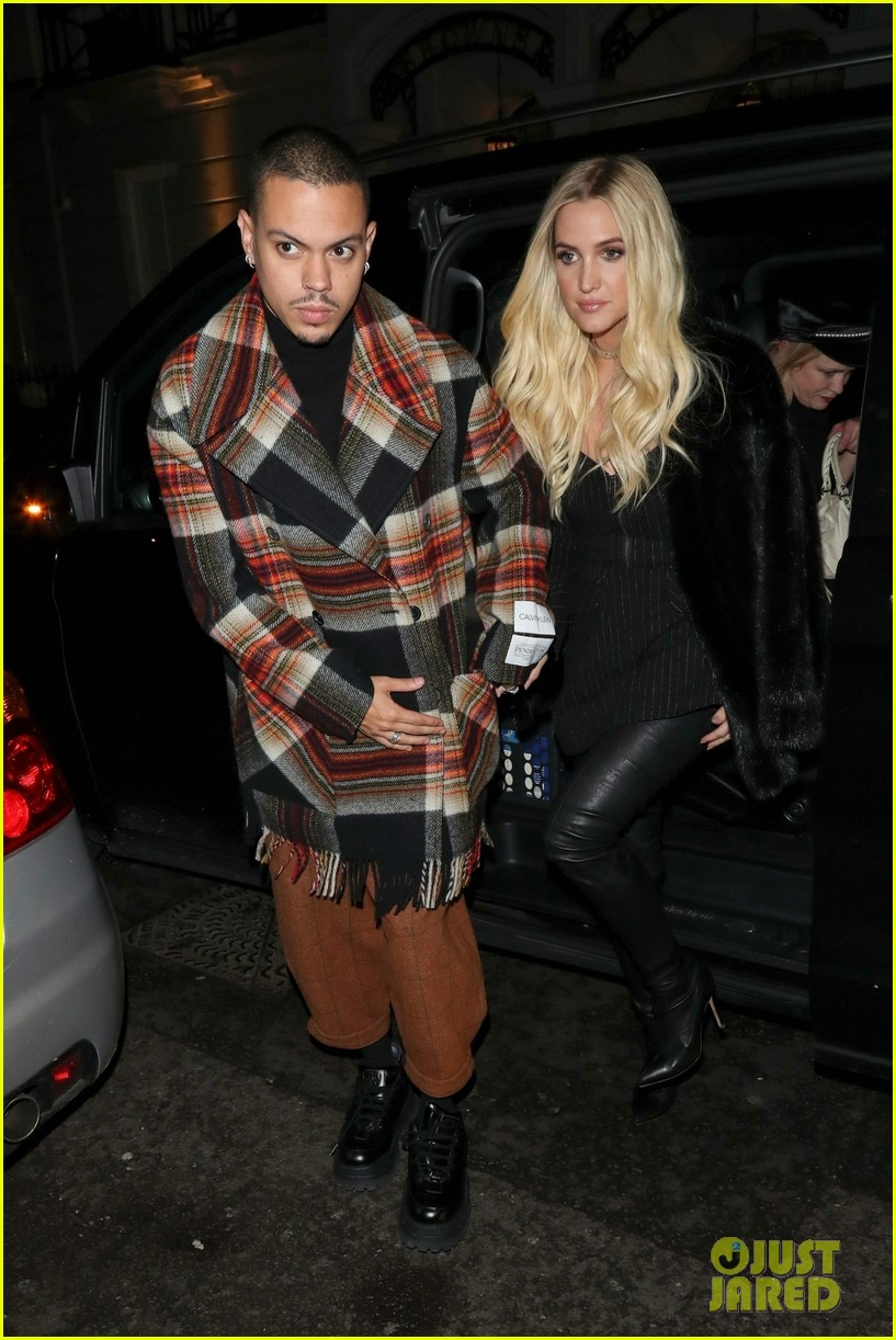 ashlee simpson evan ross out in london 01