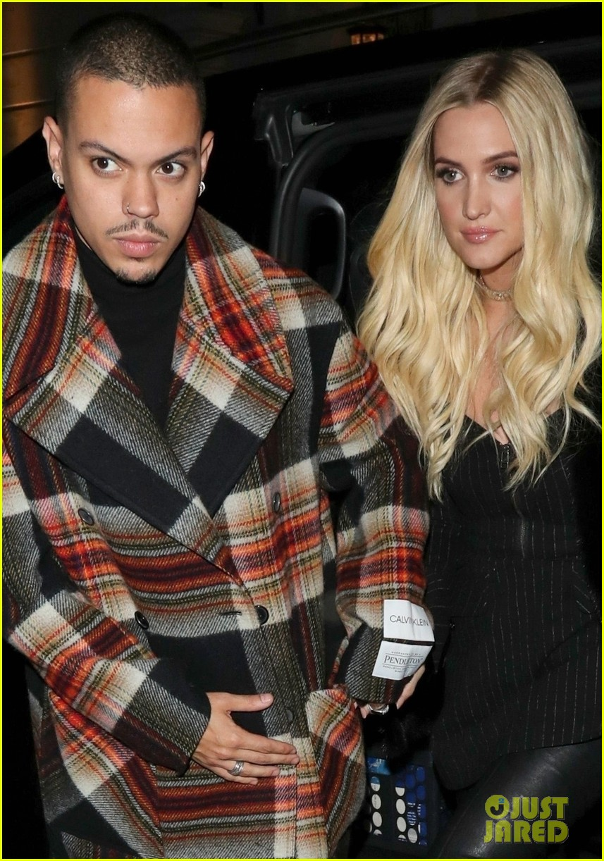 ashlee simpson evan ross out in london 06