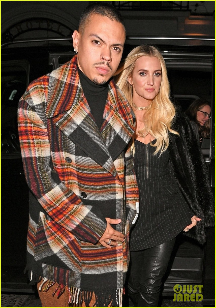 ashlee simpson evan ross out in london 07