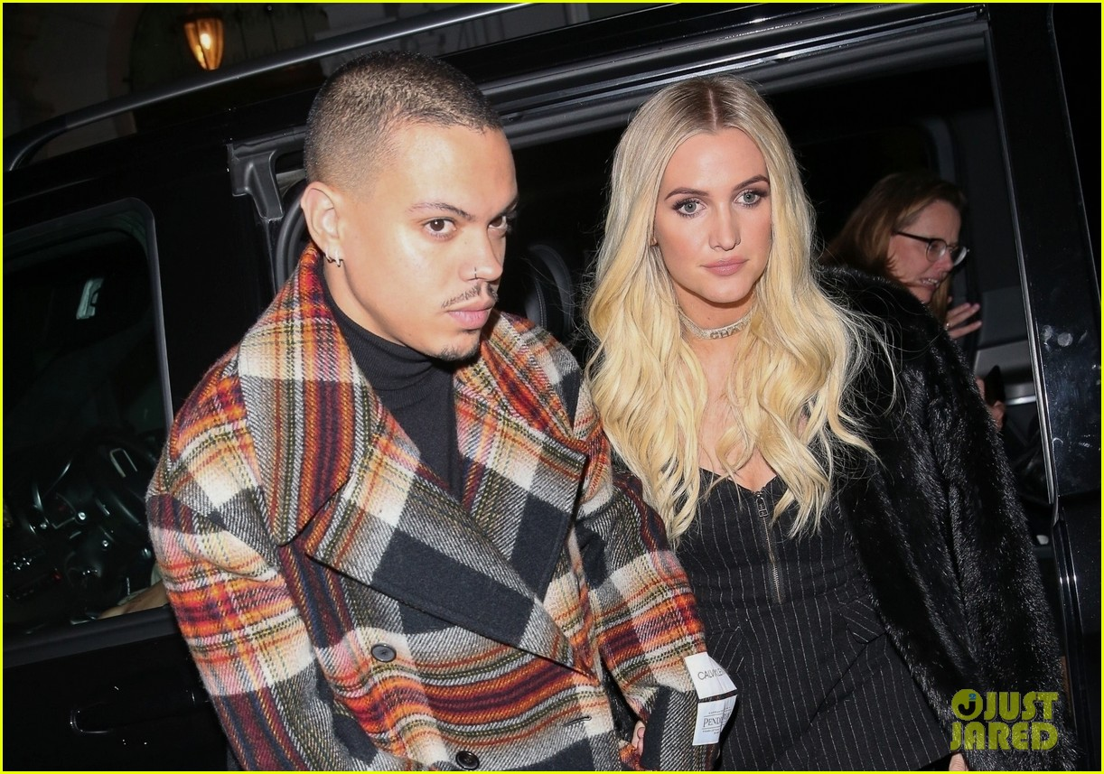 ashlee simpson evan ross out in london 08