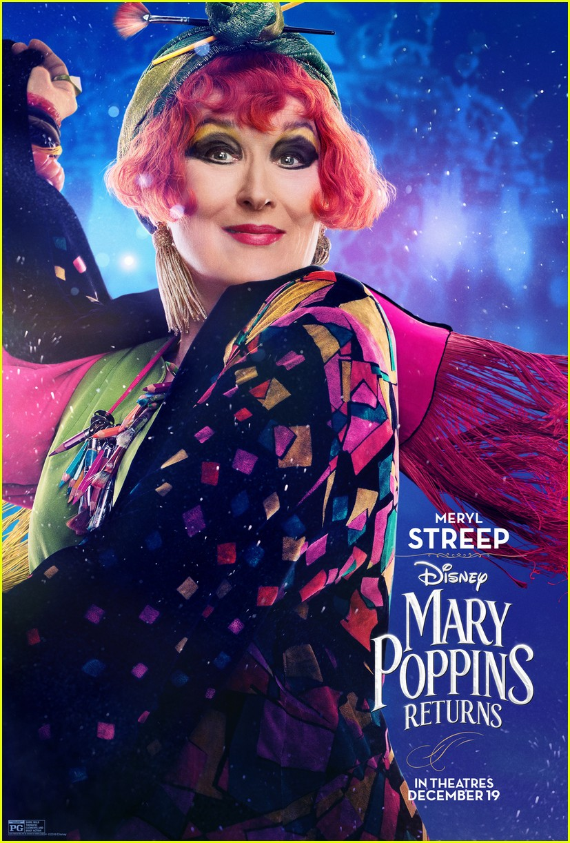 emily blunt mary poppins returns character posters 024183340