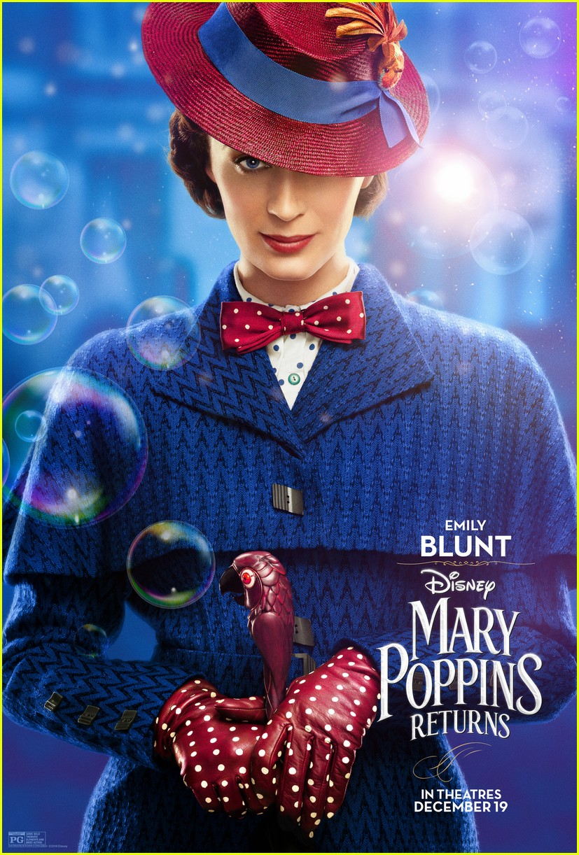 emily blunt mary poppins returns character posters 044183342