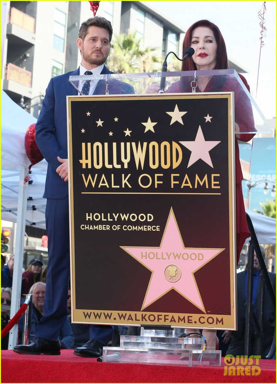 michael buble gets his star at hollywood walk of fame ceremony 274183837