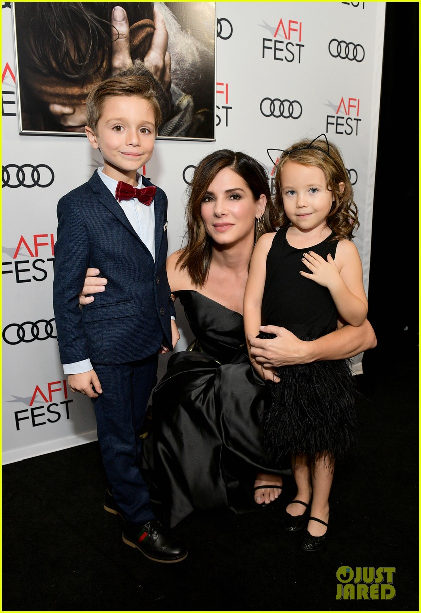 sandra bullock steps out for bird box screening after donating 044181652