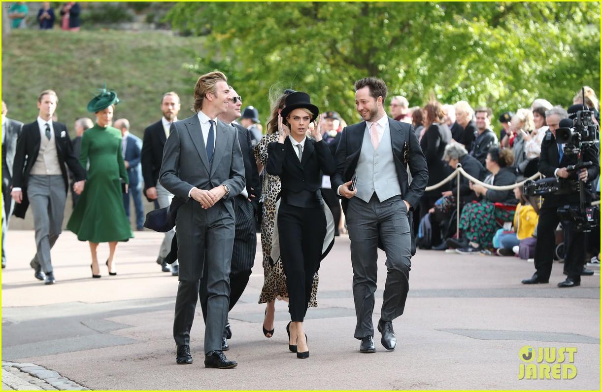cara delevingne full suit royal wedding 014181800