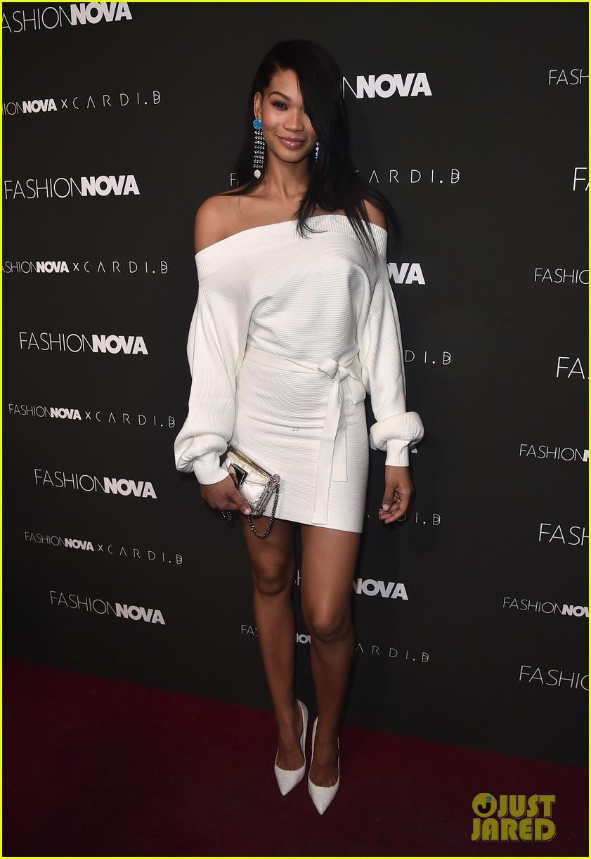 Cardi B Gets Star Studded Support At Fashion Nova Collaboration