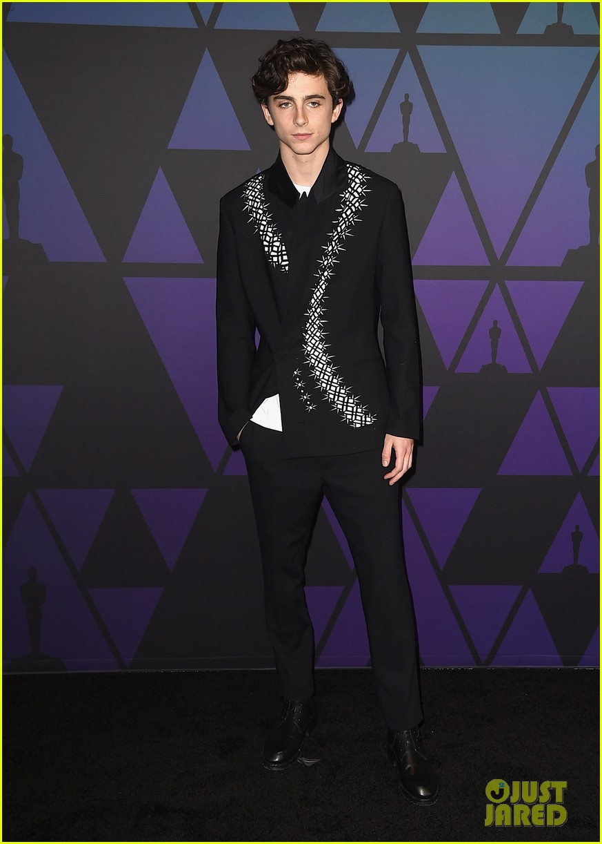 timothee chalamet saoirse ronan governors awards 034184706