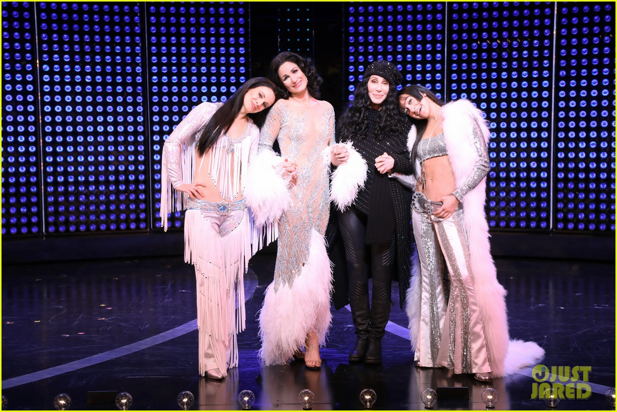 cher surprise visits her own biopic broadway musical the cher show 014190586