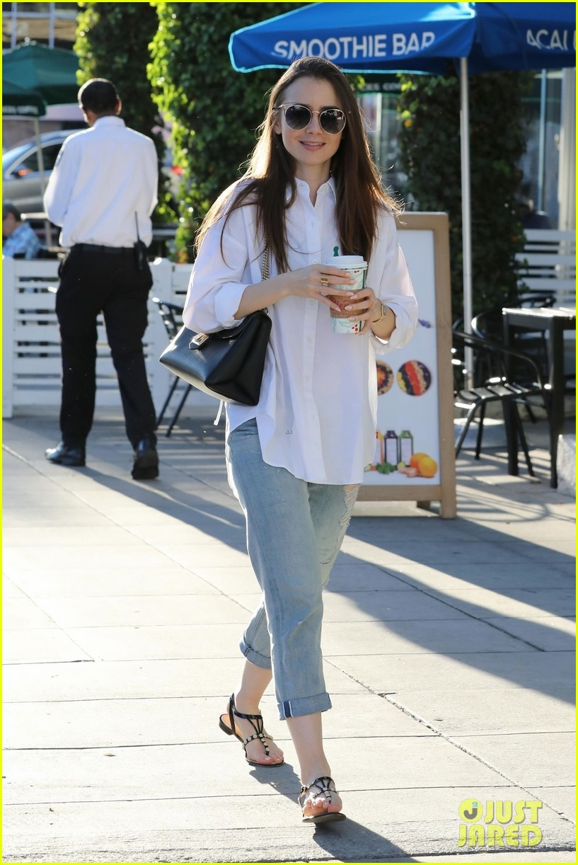 lily collins spends her day shopping in beverly hills 044188871