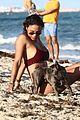 daid guetta girlfriend jessica ledon show pda beach 57