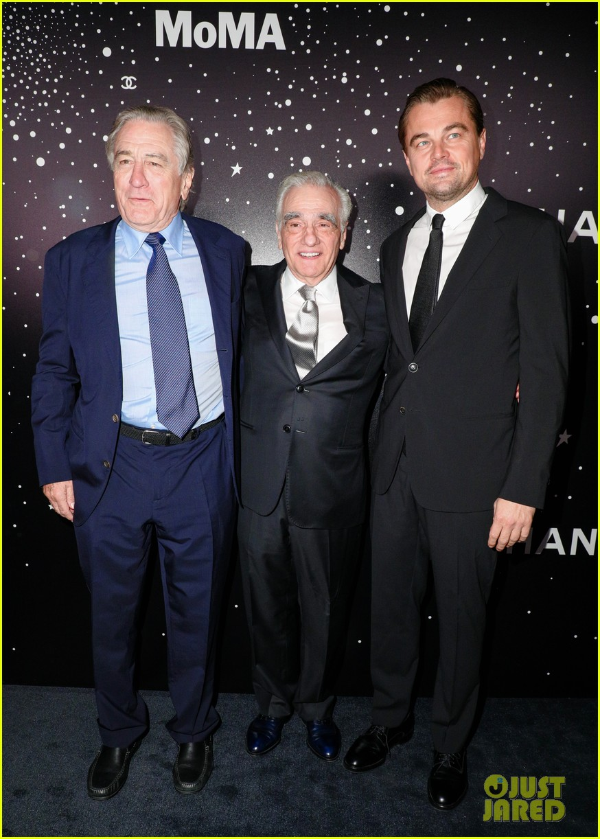leonardo dicaprio robert de niro pay tribute to martin scorsese at moma film benefit 014185599