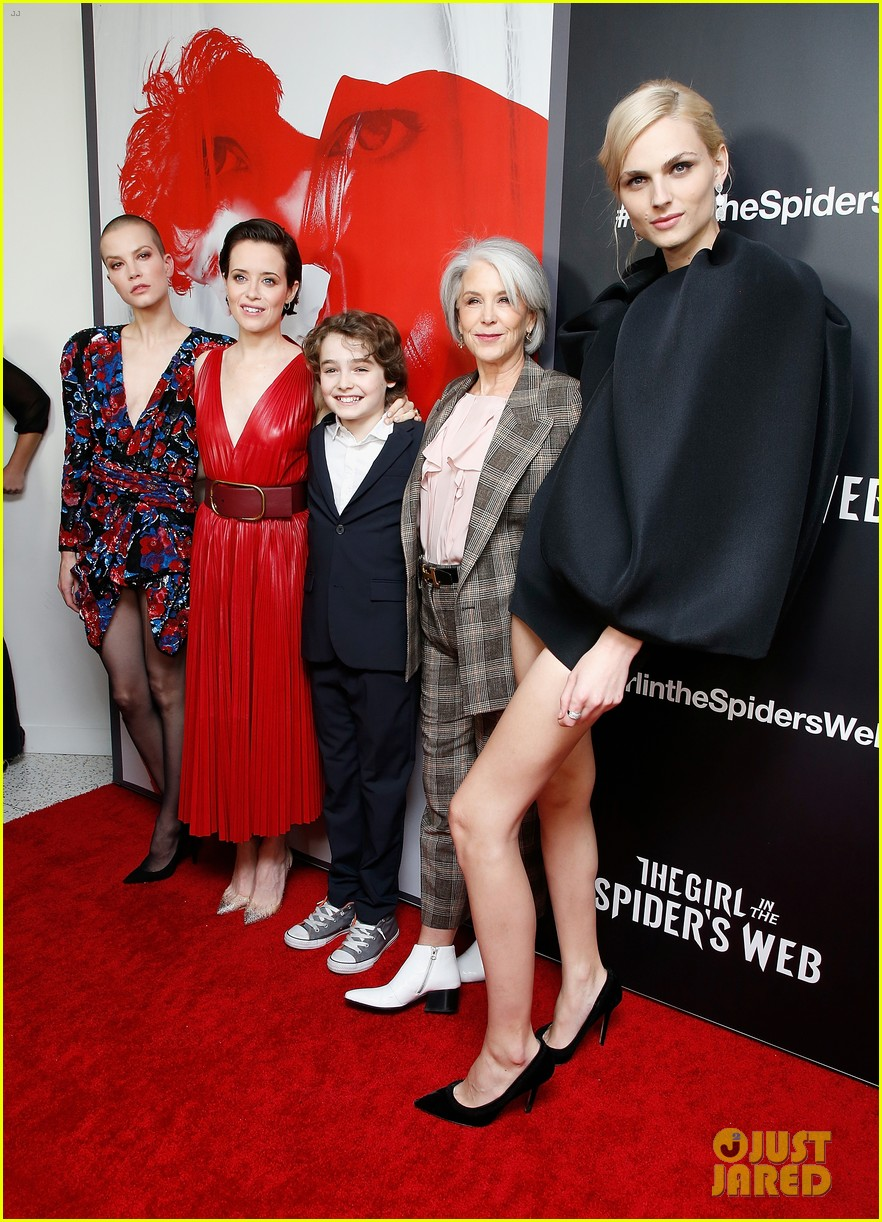claire foy joins the girl in the spiders web cast for nyc premiere 014176173