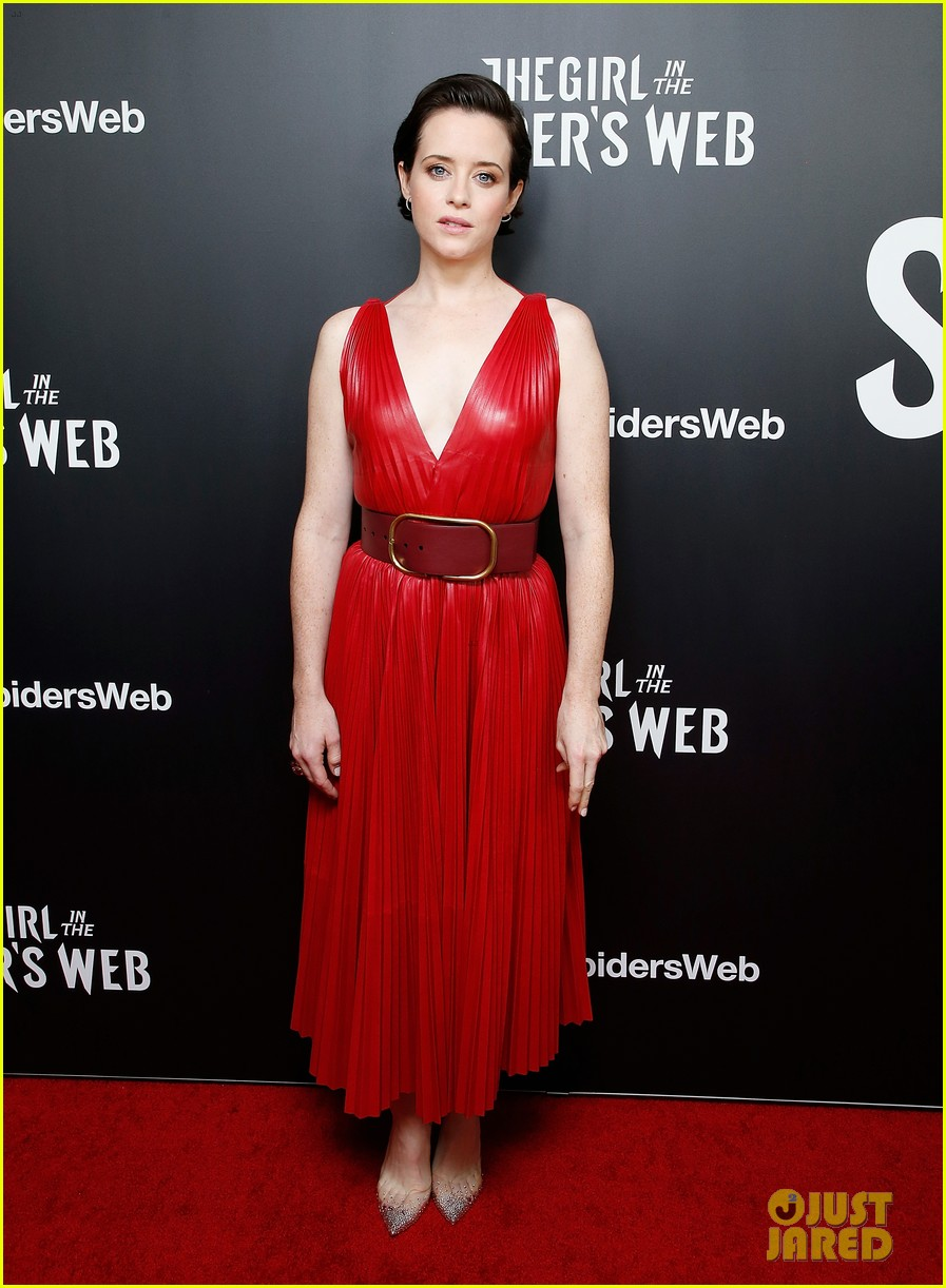 claire foy joins the girl in the spiders web cast for nyc premiere 034176175