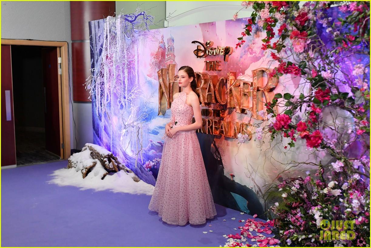 mackenzie foy pink dress keira knightley nutcracker london 034174114