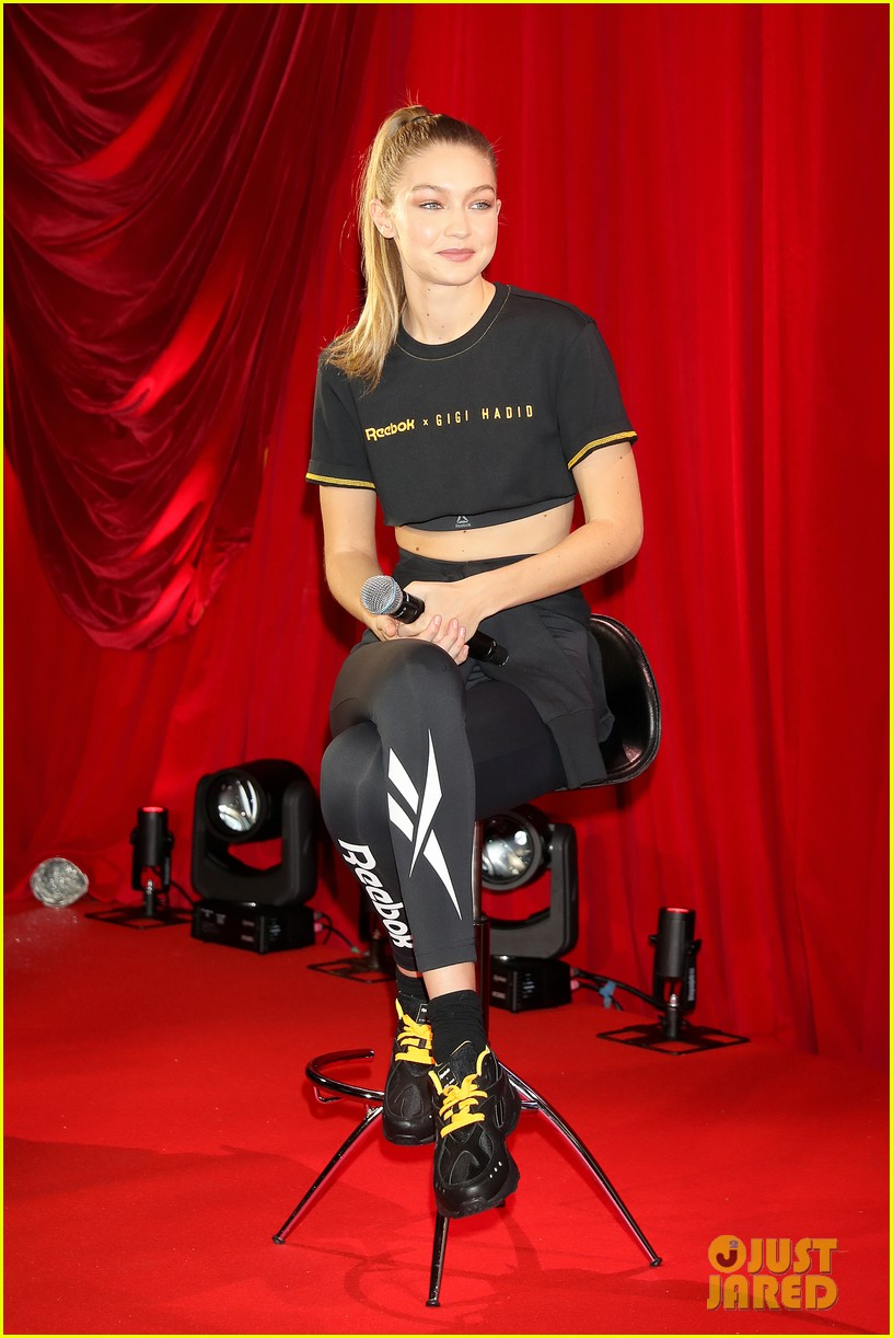 Gigi Hadid Announces Her First Collection With  Reebok   Photo ... 25c2ce0ee