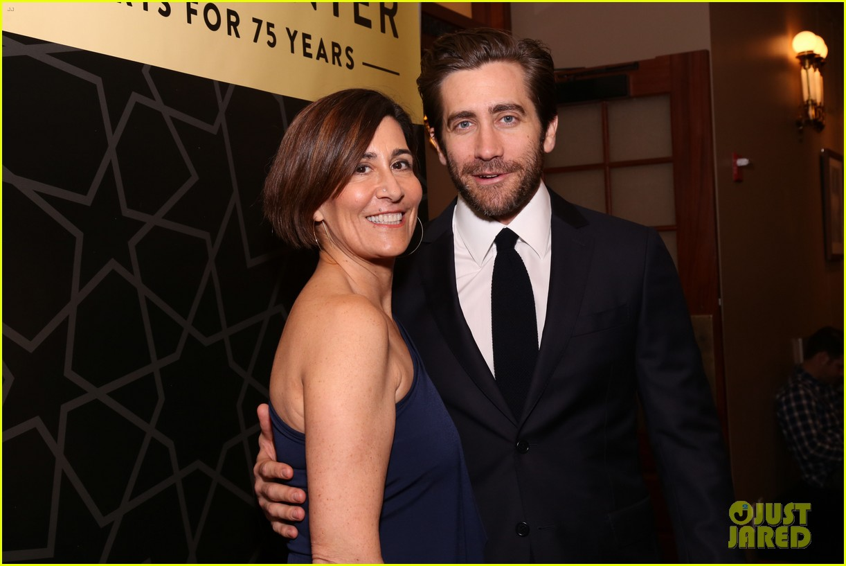 jake gyllenhaal sutton foster more step out for nyc centers a chorus line gala 114182837