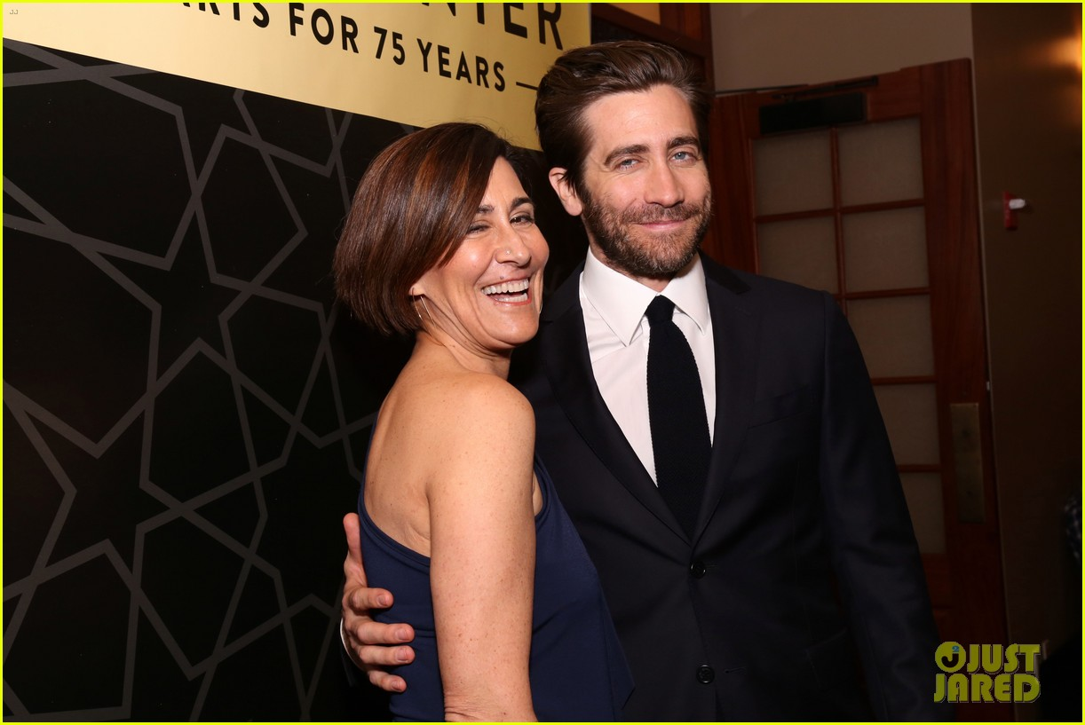 jake gyllenhaal sutton foster more step out for nyc centers a chorus line gala 124182838