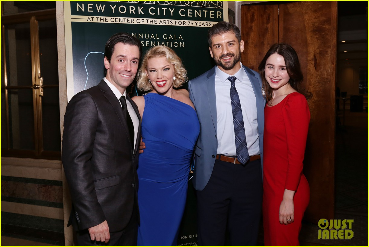 jake gyllenhaal sutton foster more step out for nyc centers a chorus line gala 264182852