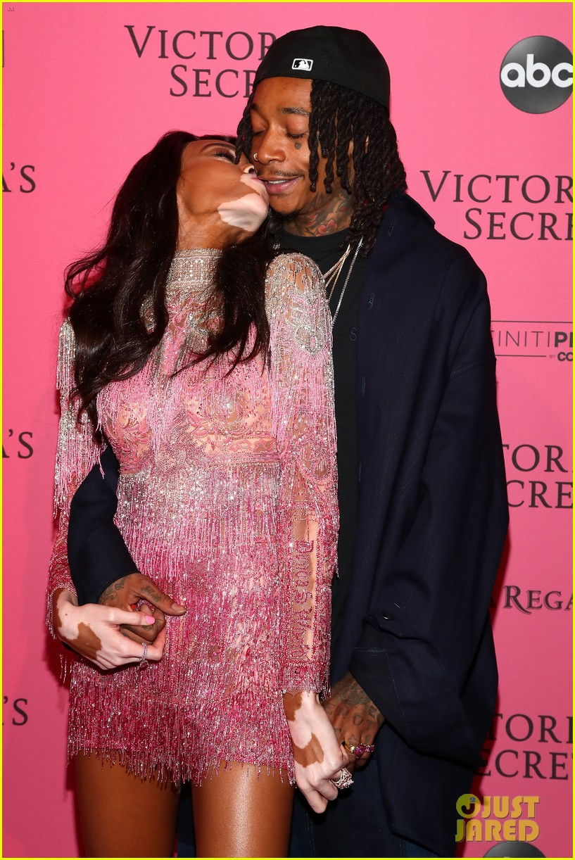 winnie harlow wiz khalifa victorias secret fashion show after party 054178655