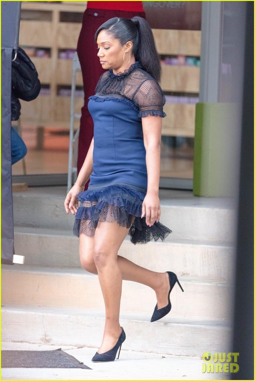 salma hayek tiffany haddish rose byrne start filming limited partners in atlanta 024176623