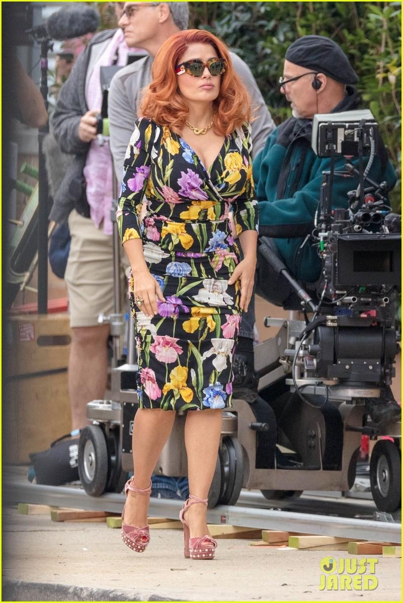 salma hayek tiffany haddish rose byrne start filming limited partners in atlanta 084176629